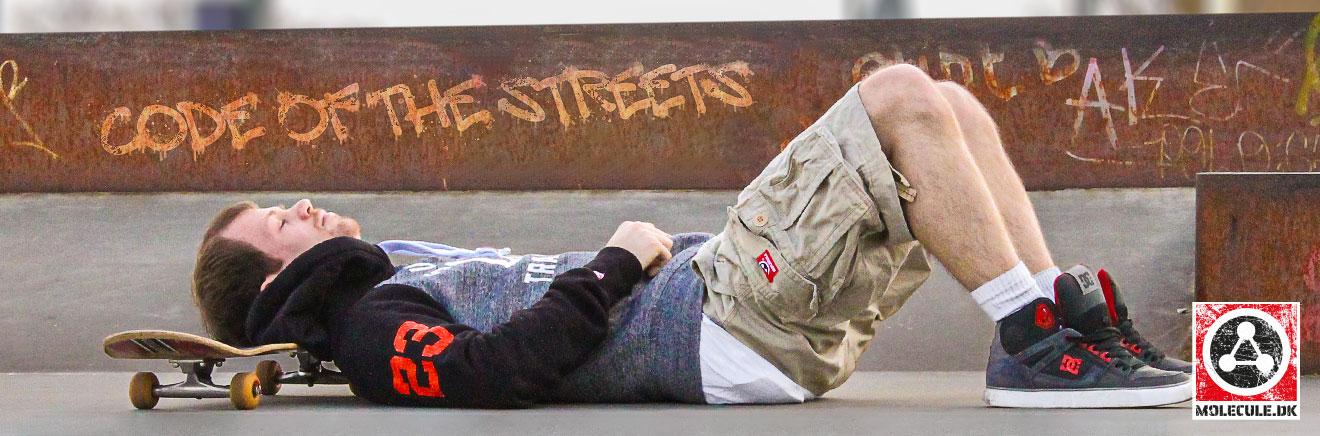 Skate rest